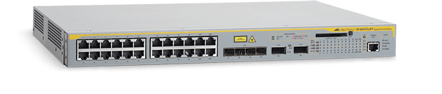 Allied Telesis 9424Ts/XP 10/100/1000T x 24 ports Layer 3 switch with 10Gbps XFP bays x 2 and optional stacking module