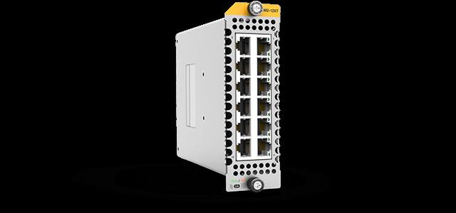 Allied Telesis XEM2-12XT 12 x 1G/10G RJ-45 port module