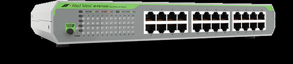 Allied Telesis FS710/24 24-port 10/100TX unmanaged switch with internal PSU