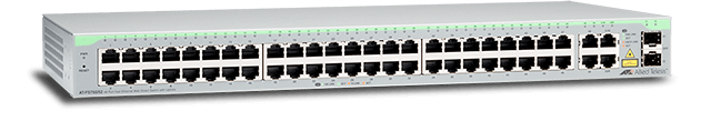 Allied Telesis FS750/52 48-port 10/100TX + 2 10/100/1000T + 2 SFP/1000T Combo Ports