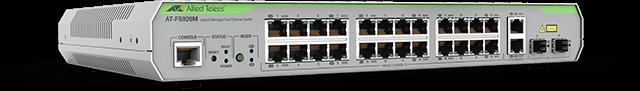 Allied Telesis FS926M 24 x 10/100TX ports and 2 x combo RJ-45/SFP port