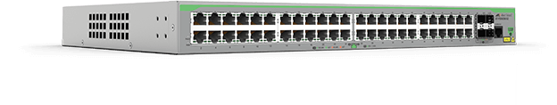 Allied Telesis FS980M/52 48-port 10/100TX stackable switch with 4 x 100/1000X SFP uplink/stacking ports. (*available end of October 2016)