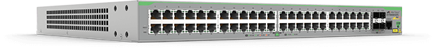 Allied Telesis FS980M/52PS 48-port 10/100TX PoE+ stackable switch with 4 x 100/1000X SFP uplink/stacking ports. (*available end of October 2016)