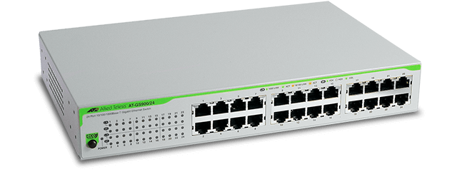 Allied Telesis GS900/24 10/100/1000T x 24 ports unmanaged switch