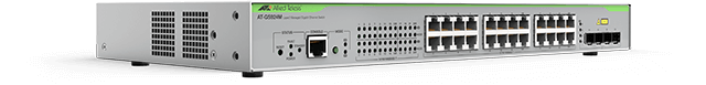 Allied Telesis GS924M 20 x 10/100/1000T ports and 4 x combo RJ-45/SFP port