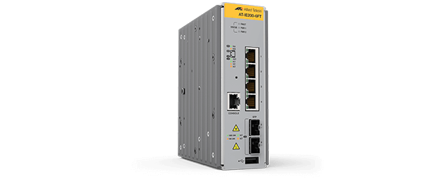 Allied Telesis IE200-6FT 4x 10/100T, 2x 100/1000X SFP, Industrial Ethernet, Layer 2 Switch