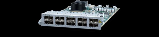 Allied Telesis SBx31GC40 40-port CSFP Ethernet line card
