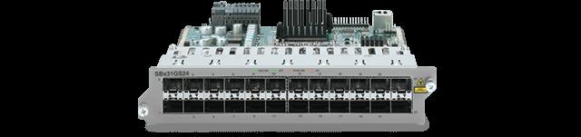 Allied Telesis SBx31GS24 24-port SFP Ethernet line card
