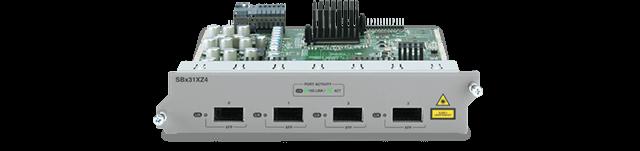 Allied Telesis SBx31XZ4 4-port 10GE XFP Ethernet line card