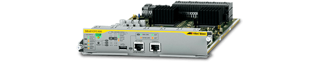 Allied Telesis SBx81CFC400 The SwitchBlade x8100 Series with SBx81CFC400 control cards deliver high availability, wirespeed performance, and a high port count.