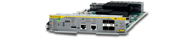 Allied Telesis SBx81CFC960 SBx81CFC960 high availability, high performance control card supporting stacking with four 10GbE ports.