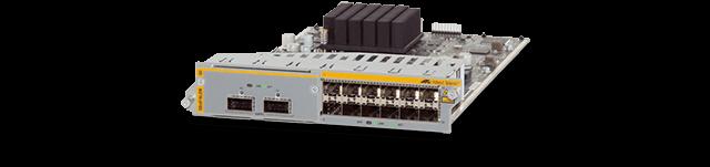 Allied Telesis SBx81XLEM The SBx81XLEM modular 40G line card with 12 x 100/1000X SFP.