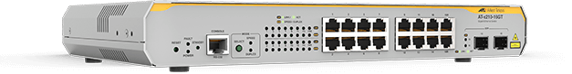 Allied Telesis x210-16GT 14 x 10/100/1000T portand 2 x combo port(SFP and 10/100/1000T) L2+ switch