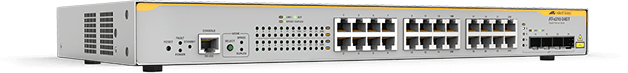 Allied Telesis x210-24GT 20 x 10/100/1000T port and 4 combo port(SFP and 10/100/1000T) L2+ switch