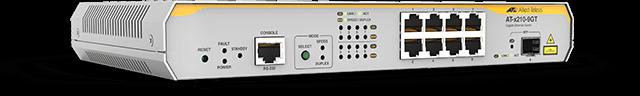 Allied Telesis x210-9GT 8 x 10/100/1000T portand 1 x SFP port L2+ switch