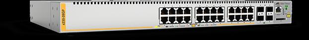 Allied Telesis x230-28GP 24 x 10/100/1000T PoE+ portand 4 x 100/1000X SFP port L3 switch