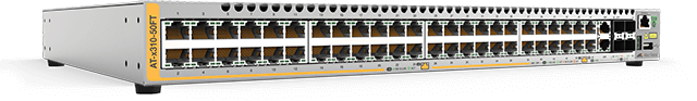 Allied Telesis x310-50FT 48 x10/100T port switch with 2 combo ports (100/1000X SFP or 10/100/1000T) and 2 stacking ports