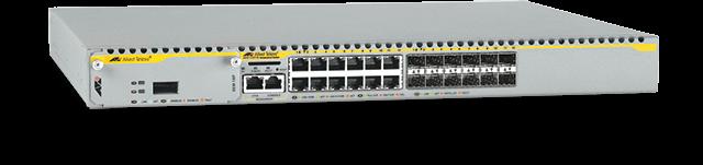 Allied Telesis x900-12XT/S 12 x 1000T combo ports, 1 x high-speed expansion bay, internal PSU