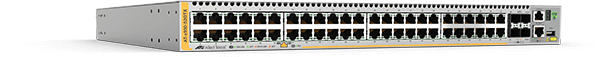 Allied Telesis x930-52GTX 48-port 10/100/1000T stackable switch with 4 SFP+ ports and dual hot-swap PSU bays