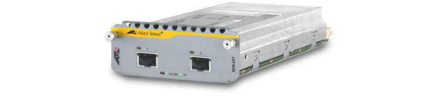 Allied Telesis XEM-2XT 2-port 10GbE (RJ-45) expansion module