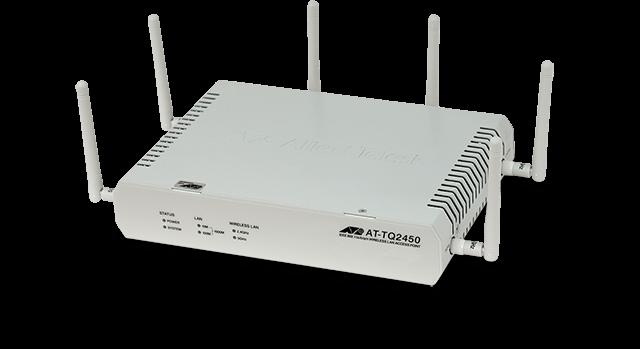 Allied Telesis TQ2450 Enterprise Class Wireless AP with IEEE 802.11n dual-band radios