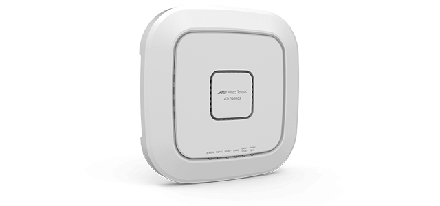 Allied Telesis TQ5403 The Allied Telesis TQ5403 Enterprise-class Wave2 Wireless Access Point features an IEEE 802.11ac tri-band 2.4/5GHz radio and embedded antenna, capable of 2133Mbps raw wireless capacity.