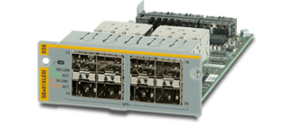 Allied Telesis SBx81XLEM/XS8 8 x 10G SFP+ module for the AT-SBx81XLEM line card.