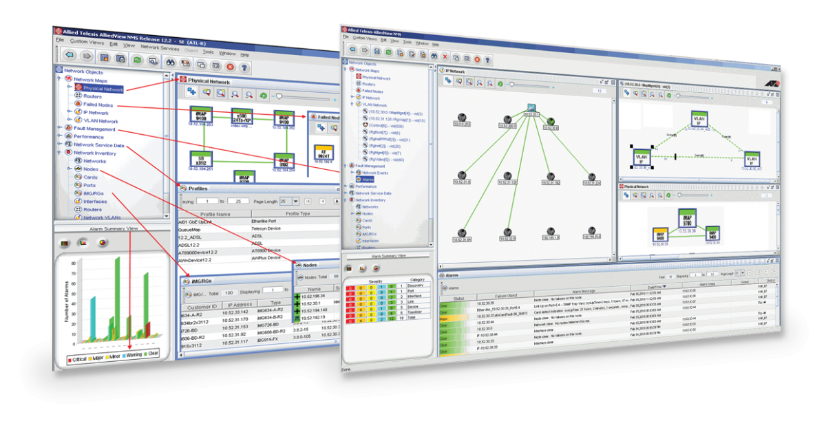 AlliedView™ NMS A fully-featured network management system   Allied