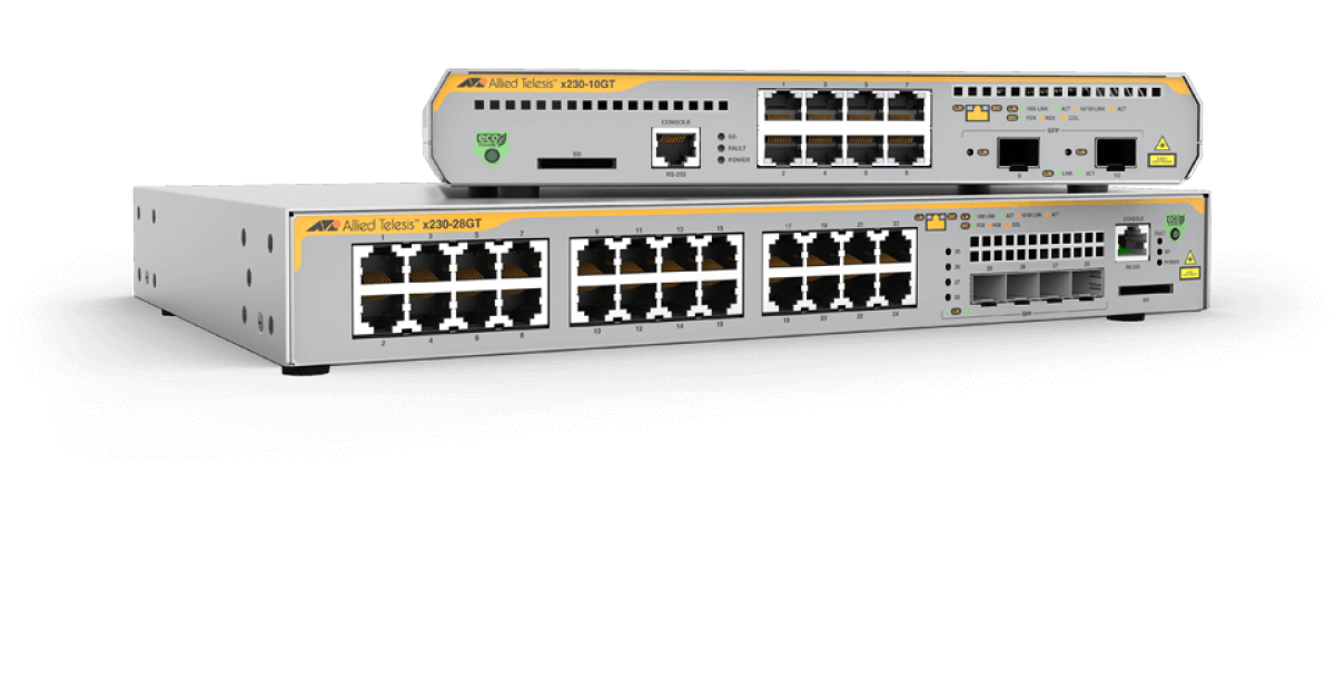 x230 Series Gigabit Edge Switches | Allied Telesis