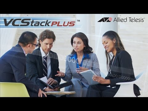 Embedded thumbnail for Video: Allied Telesis Virtual Chassis Stacking Plus (VCStack Plus™)