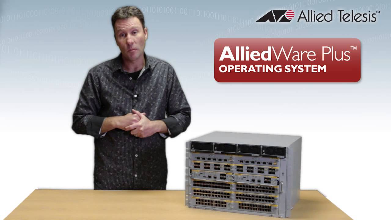 Embedded thumbnail for Video: SwitchBlade x8100 Series Intelligent Layer 3+ Chassis Switches
