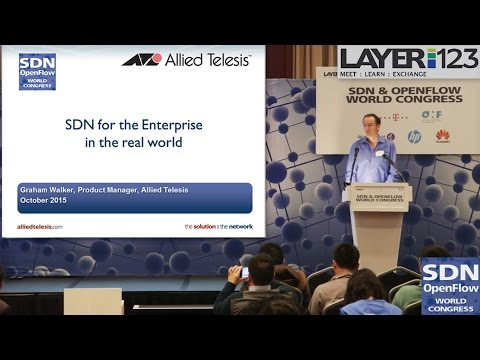 Embedded thumbnail for Video: SDN & OpenFlow World Congress 2015
